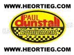 Paul Dunstall Equipment Transfer Decal D20082-7